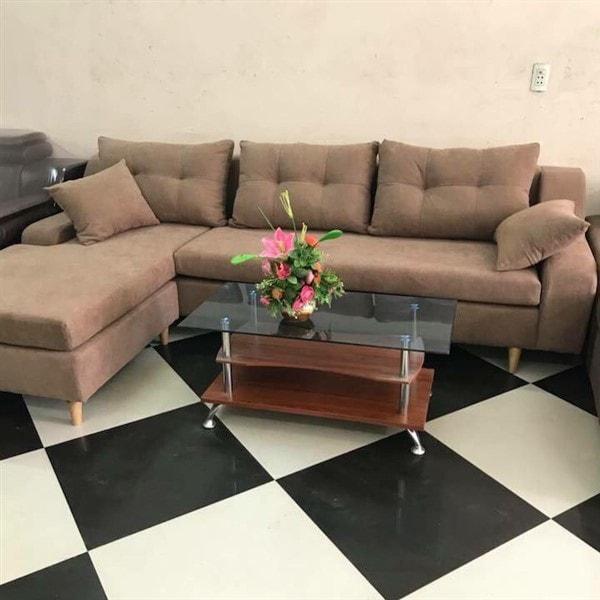 Bàn sofa mặt kính giá cực rẻ