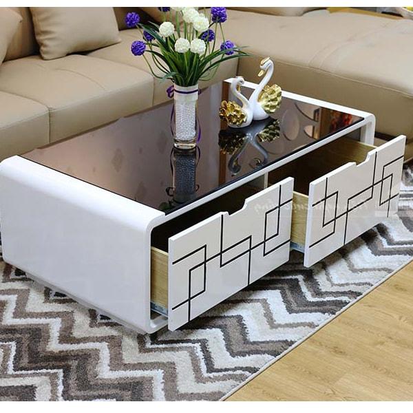 Bàn trà sofa phòng khách - btdk02
