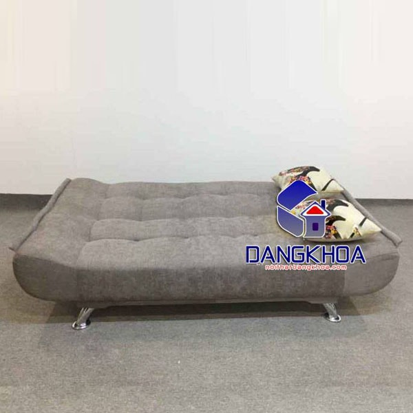 Ghế Sofa Bed – Sofa Giường màu ghi lông chuột