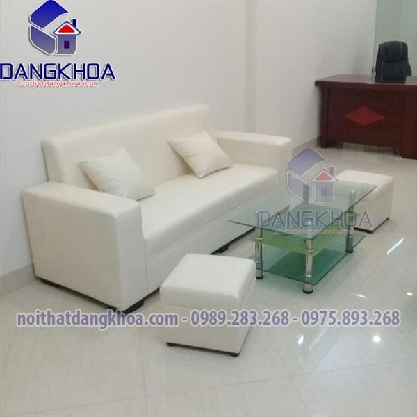 Ghế sofa đơn dài màu kem dài 1m8