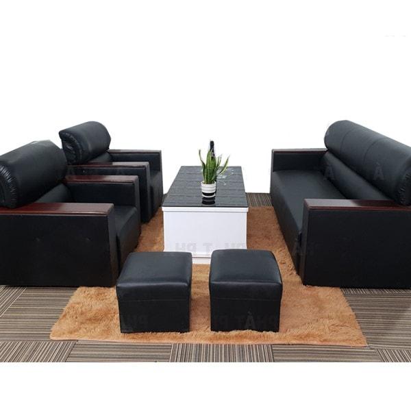 Ghế Sofa kiểu nhật màu đen