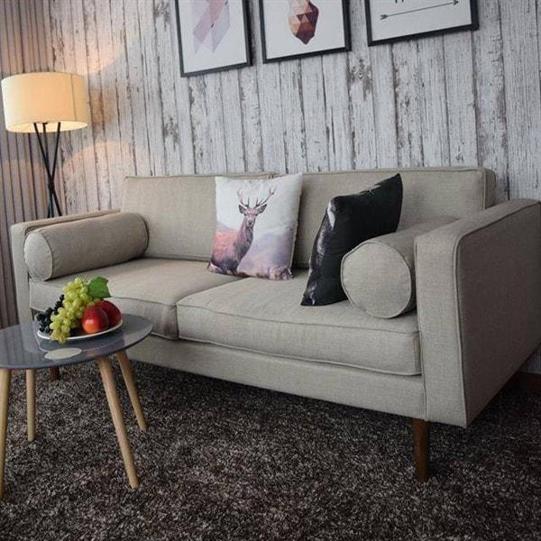 Mẫu ghế sofa văng nỉ nhung